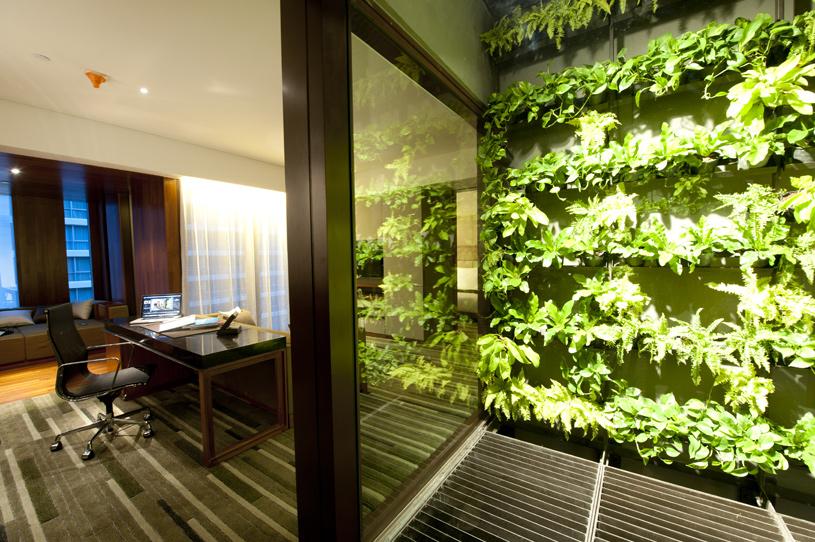 Hansar Bangkok Edge Suite Landscape