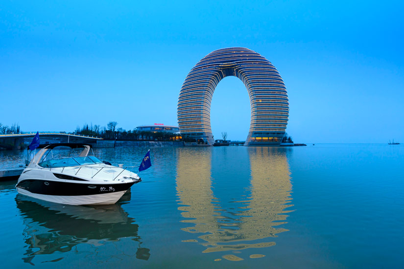 The Sheraton Huzhou Hot Spring Resort Exterior