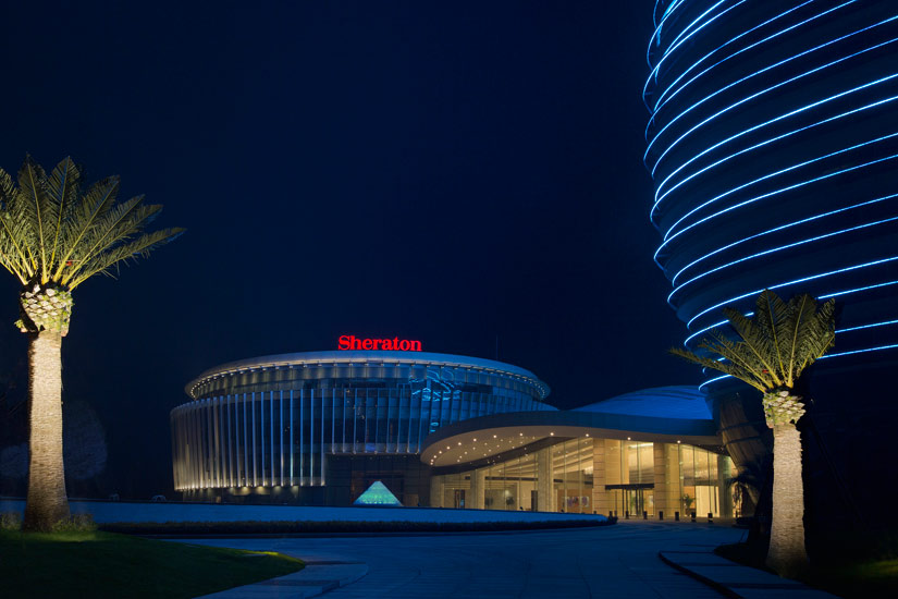 The Sheraton Huzhou Hot Spring Resorts Hotel Entrance