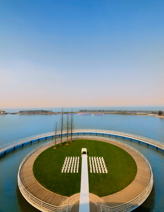 The Sheraton Huzhou Hot Spring Resorts Wedding Island