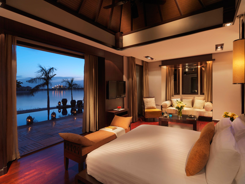 Anantara Dubai-One Bed Beach Villa Bedroom