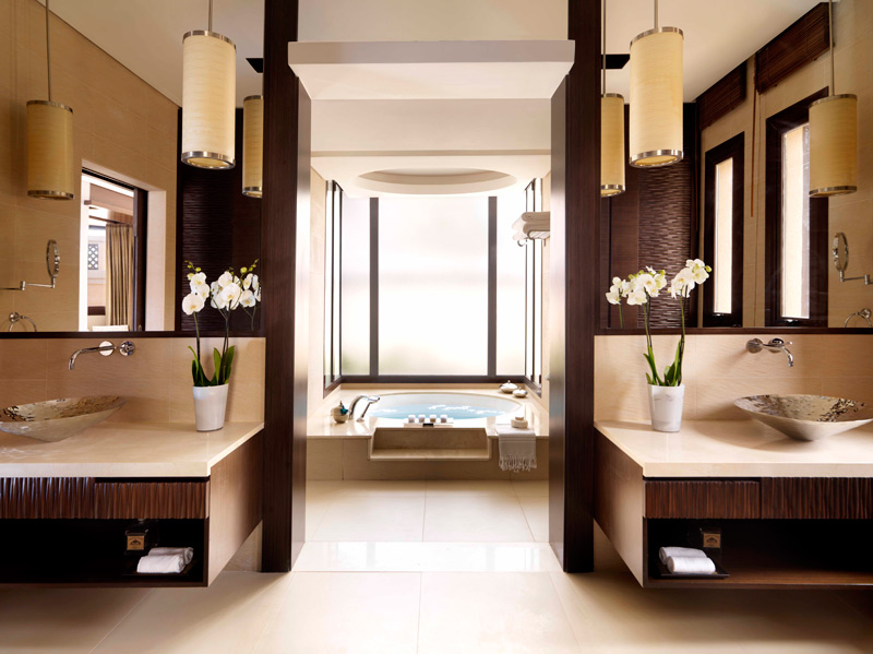 Anantara Dubai-One Bed Beach Villa Bathroom