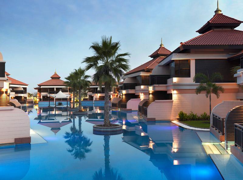 Anantara Dubai-Lagoon Villa View