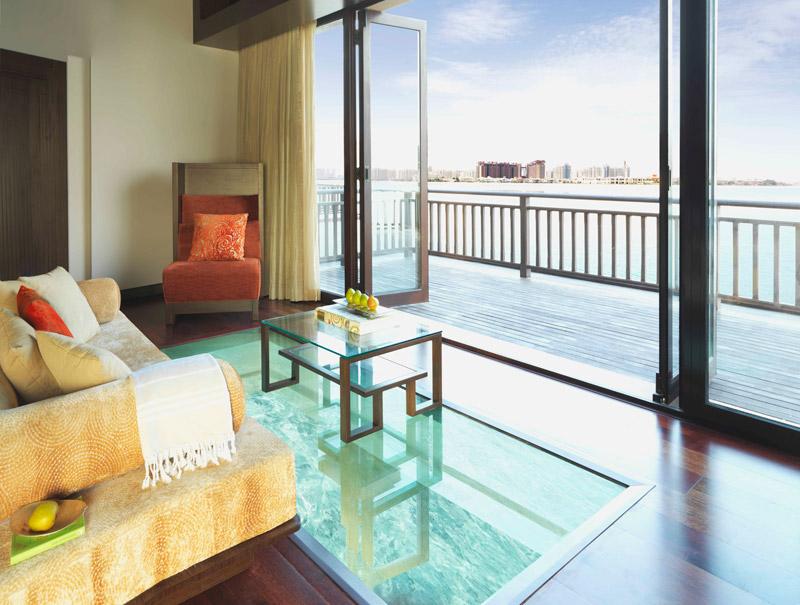 Anantara Dubai-Overwater Villa Lounge