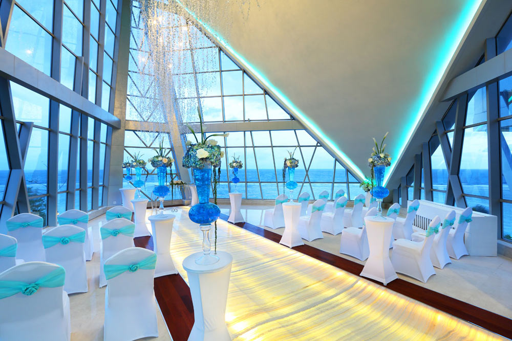 Pearl Chapel Wedding Venue Option at Samabe Bali Resort and Spa