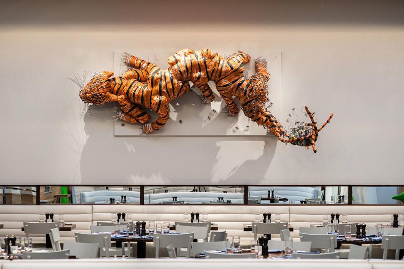 Diner at 21c Museum Hotel Bentonville