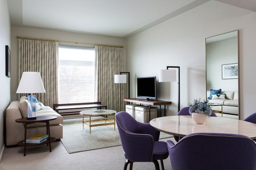 Guest Room at 21c Museum Hotel Bentonville