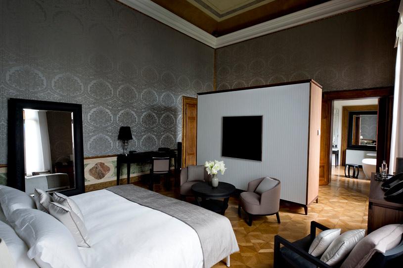Maddalena Stanza Room at Aman Canal Grande Venice