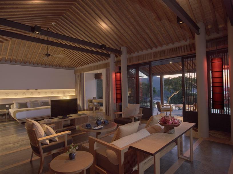 Pavilion Interior Amanoi Hotel