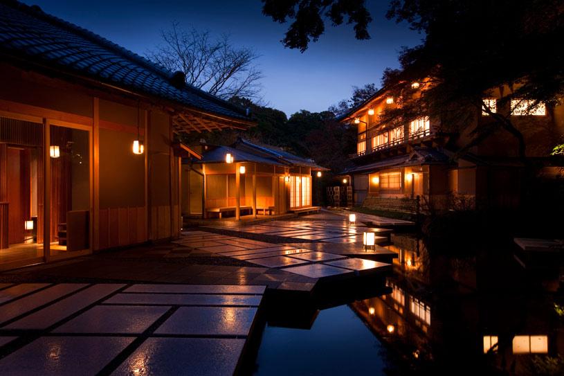 Exterior of Hoshinoya Kyoto