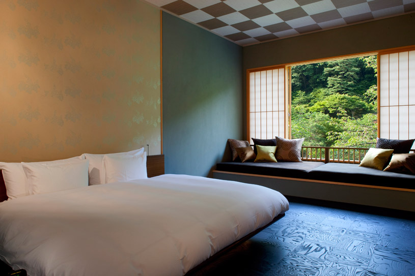 King Room at Hoshinoya Kyoto Hotel
