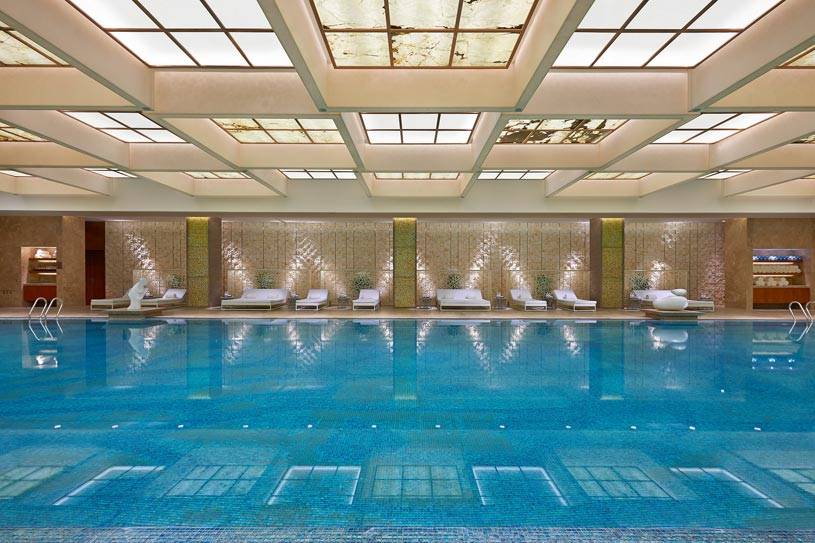 Luxury Pool at The Shanghai Pudong