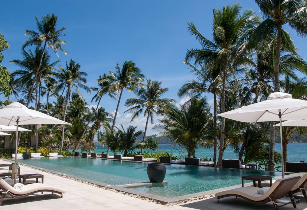 Main Pool at Pangulasian Island Resort