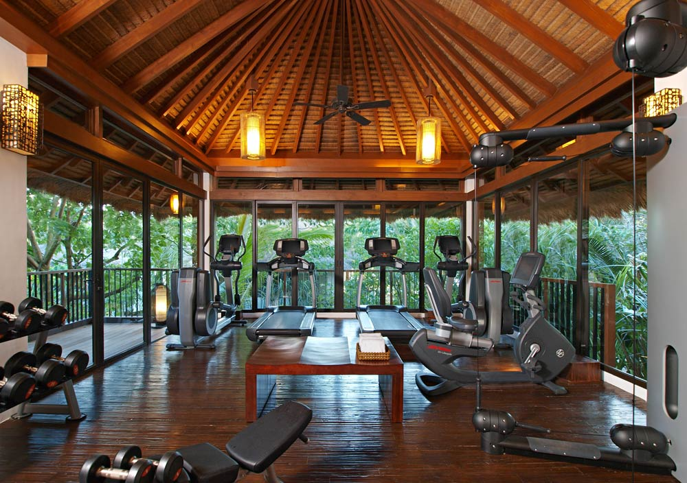 Fitness Center at Pangulasian Island Resort