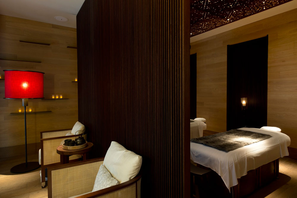 The Spa Treatment Suite at Chedi Andermatt