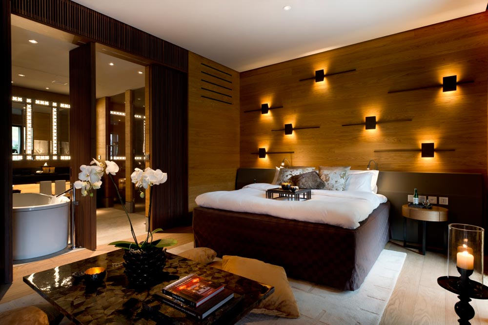 Deluxe Chedi Room at Chedi Andermatt