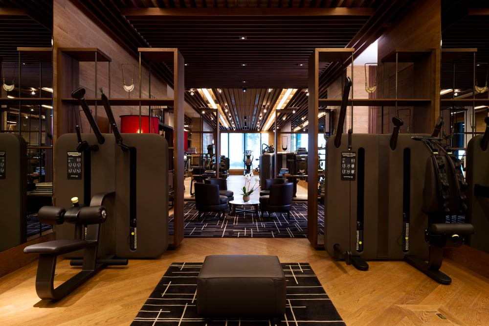The Spa Gym at Chedi Andermatt