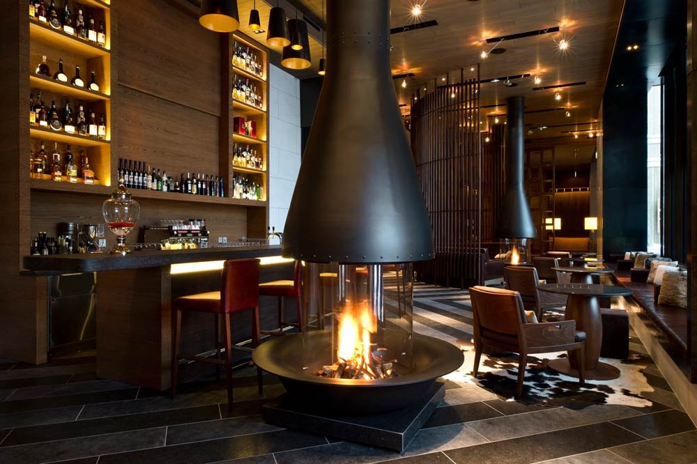 Bar at Chedi Andermatt