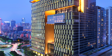 Exterior of W Guangzhou Hotel