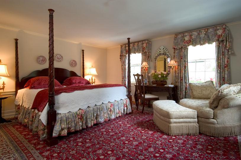 Guest Room at Homestead Inn