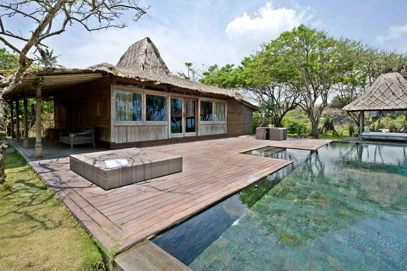 Bamu Pool Area at The Ketapang Estate Hotel