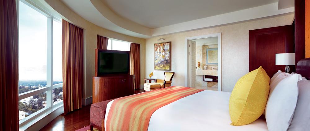 Guest Room at Ritz Carlton Bangalore