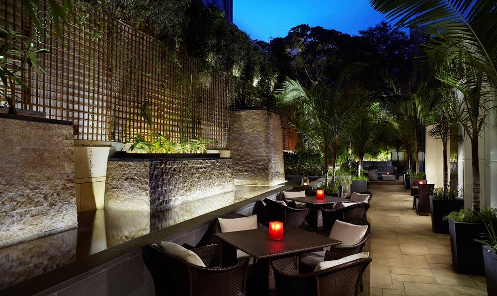 Al Fresco Dining at Ritz Carlton Bangalore