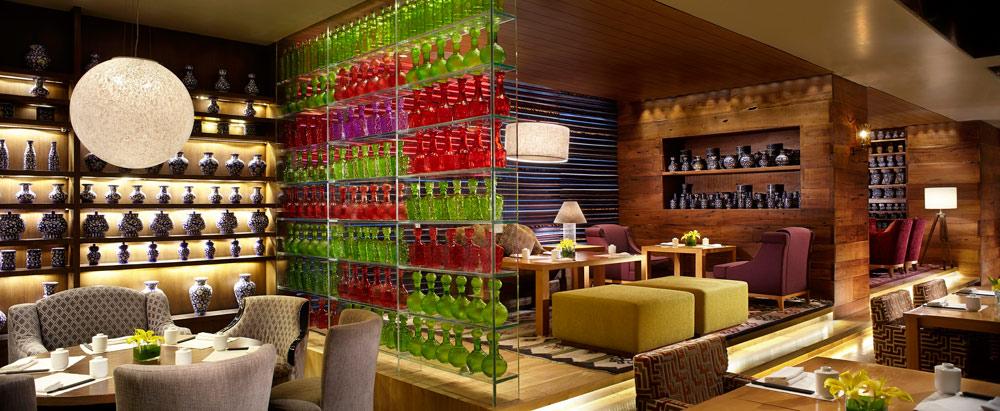 Indoor Dining at Ritz Carlton Bangalore
