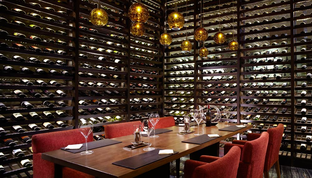 The Market Wine and Dining at Ritz Carlton Bangalore