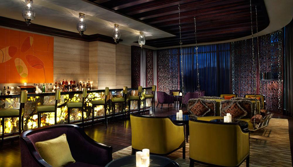 The Ritz Bar at Ritz Carlton Bangalore