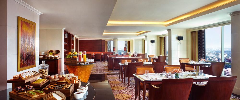 Club Lounge at Ritz Carlton Bangalore