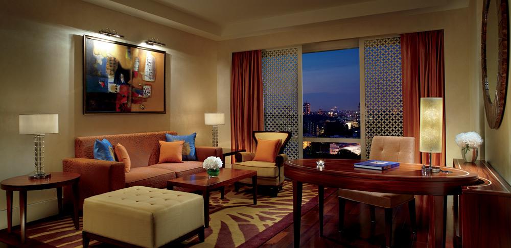 Living Area at Ritz Carlton Bangalore