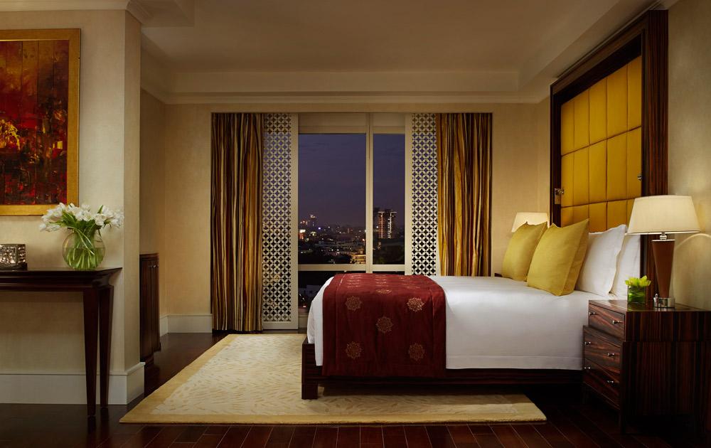 Suite Bathroom at Ritz Carlton Bangalore