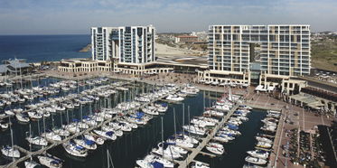 Marina of Ritz Carlton Herzliya