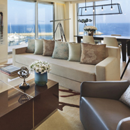 Sitting area at The Ritz Carlton Herzliya