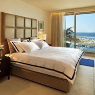 Deluxe Guest Room at The Ritz Carlton Herzliya