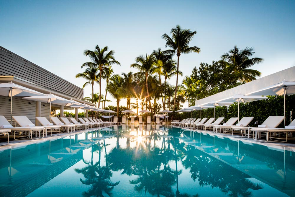 Outdoor Pool at The Metropolitan Miami BeachMiamiFL