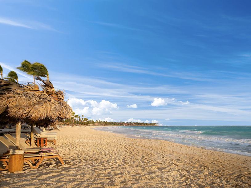 Beach at The Paradisus Punta Cana