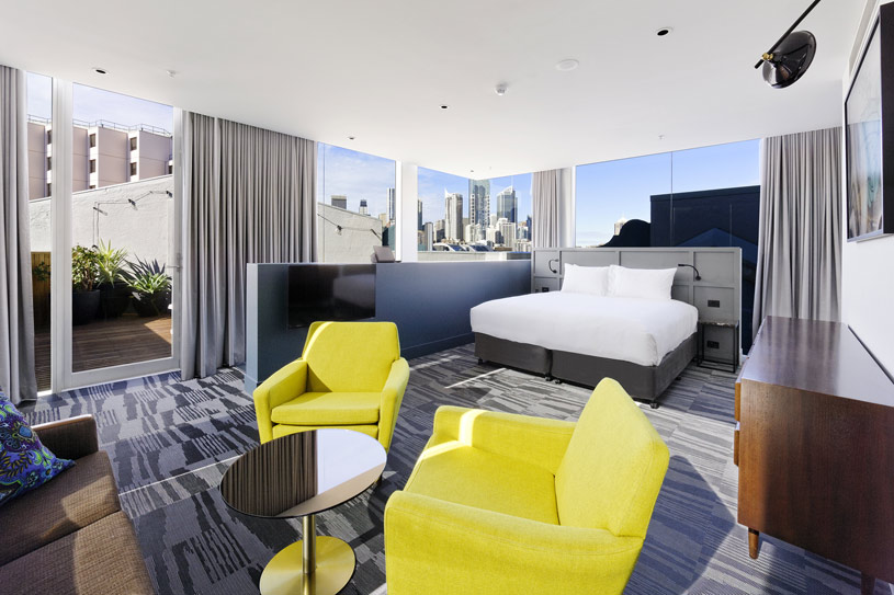 Hotel Sydney Seating Area