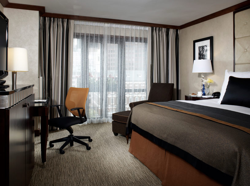 Guest Room at The Millennium Bostonian Hotel