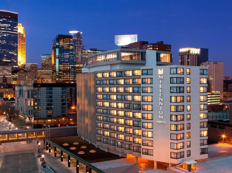Exterior of Millennium Minneapolis Hotel