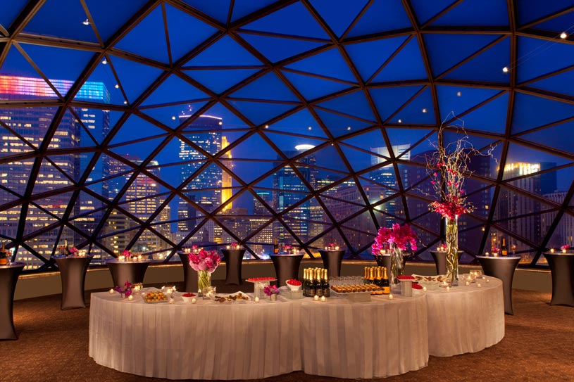 Dome Drink Reception Area at The Millennium Minneapolis Hotel