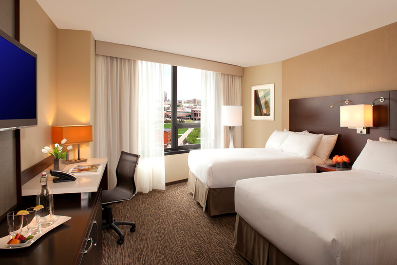 Double Guest Room at The Millennium Minneapolis Hotel