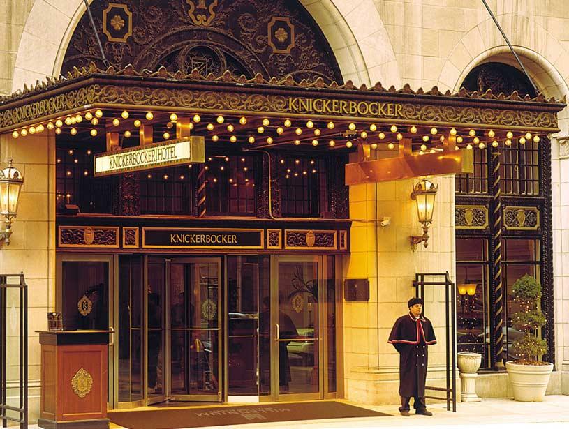 Exterior of The Millennium Chicago Knickerbocker Hotel