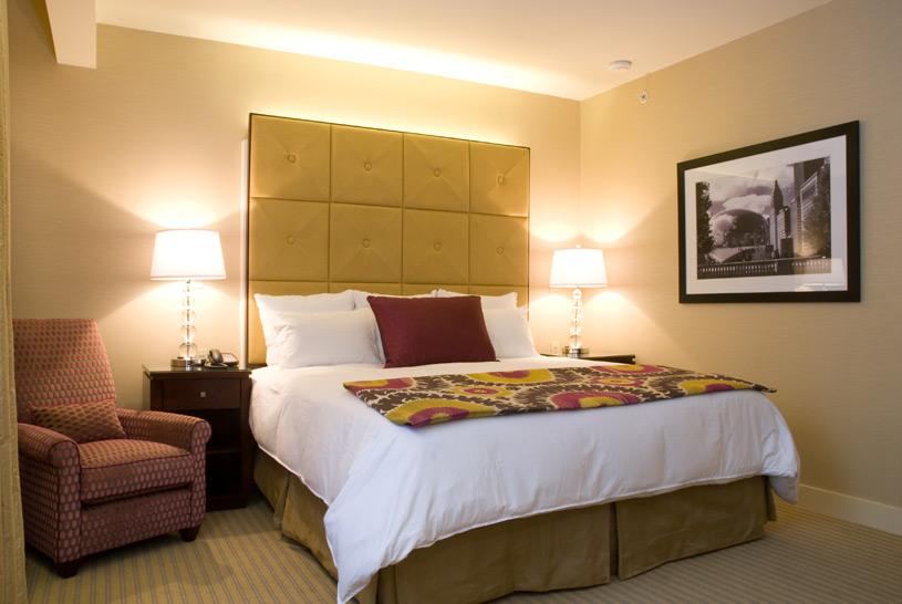 King Room at The Millennium Chicago Knickerbocker Hotel