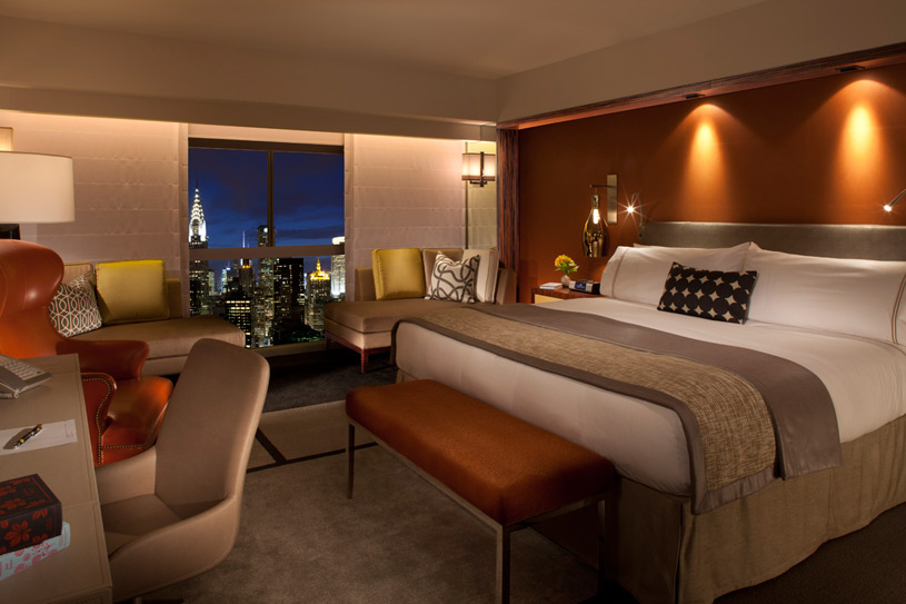 One UN New York Hotel Deluxe Room