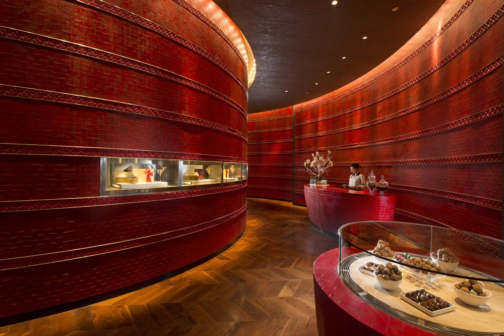 Chocolate Boutique located inside Conrad Beijing, China