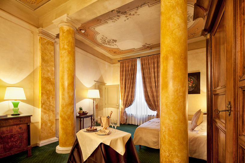 Suite at The Palazzo Arzaga Spa and Golf Resort