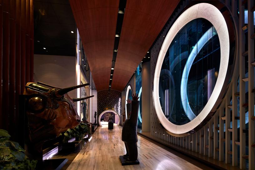 Lobby of The Hotel Eclat Bejing