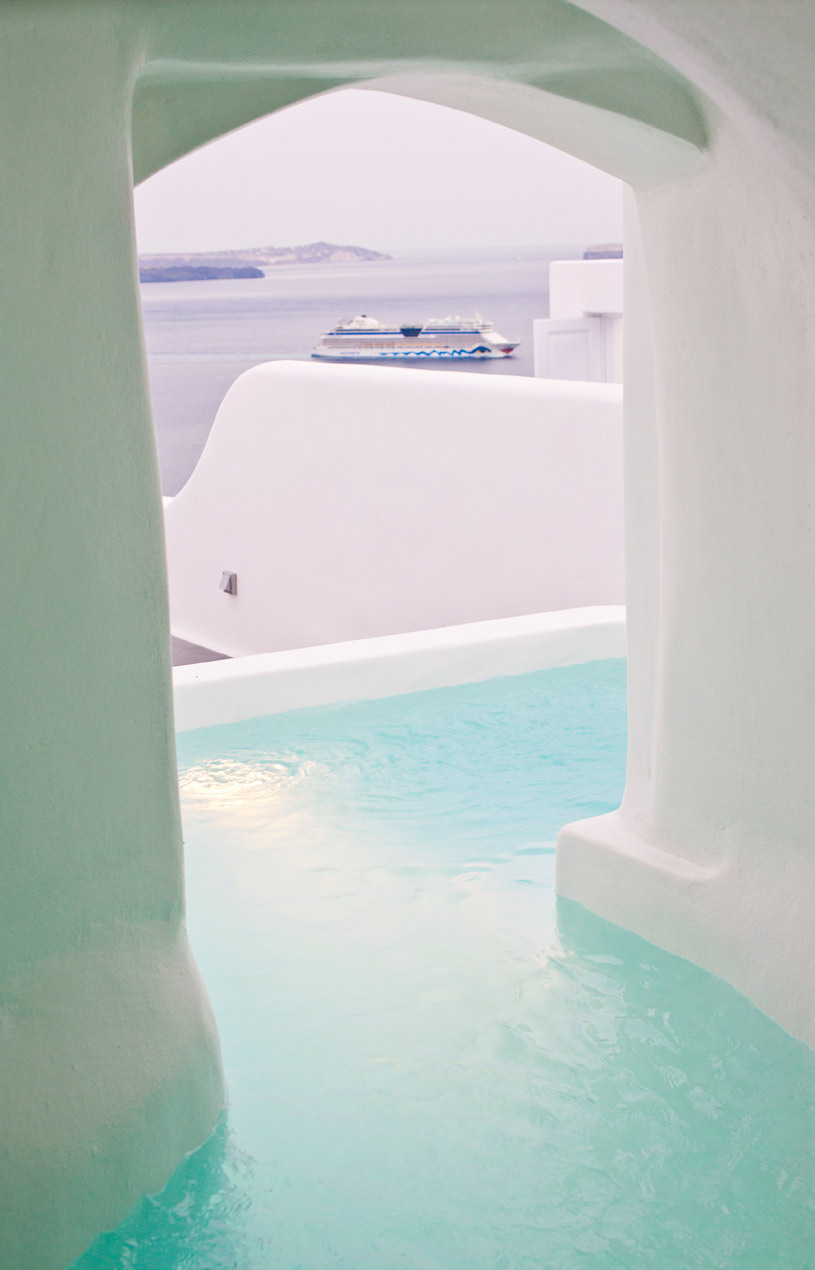 Honeymoon Suite at The Canaves Oia Hotel